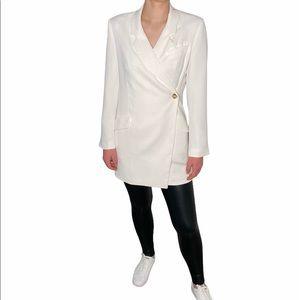 Babaton Blazer Wrap Dress